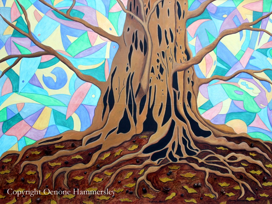 BUTTRESS ROOTS by Oenone Hammersley