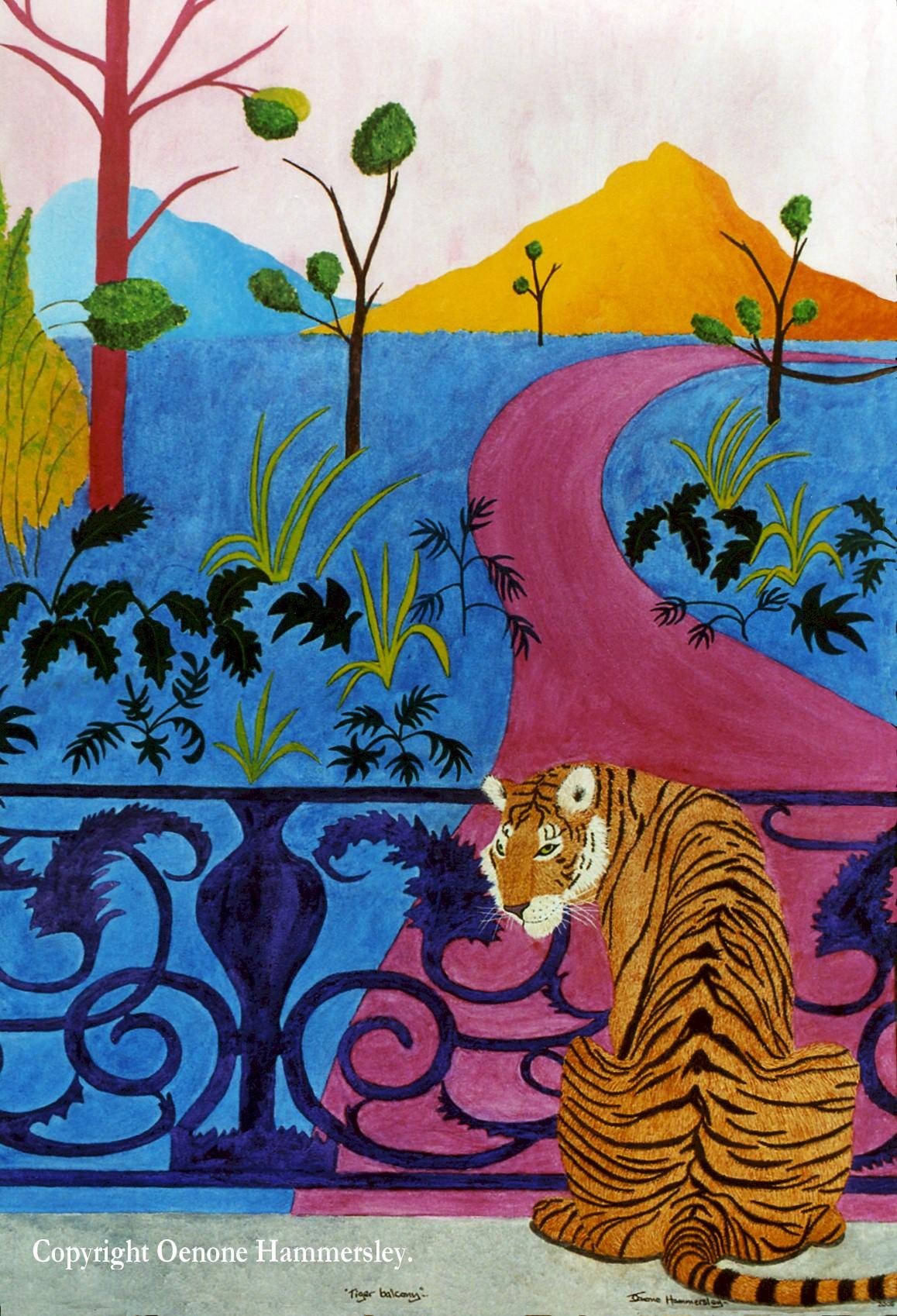 Tiger Balcony