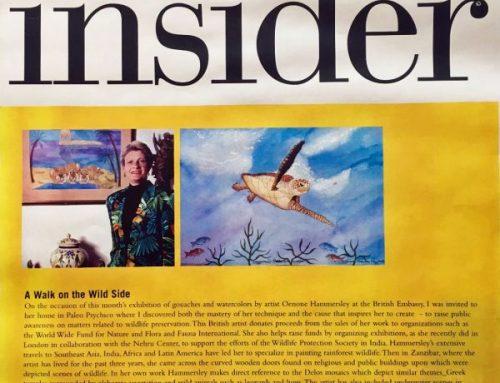 Insider Magazine Article November 2003